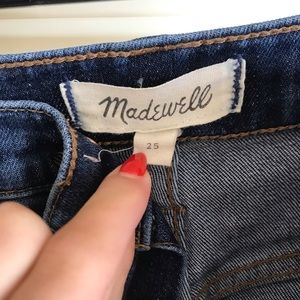 Madewell Jeans - Madewell high rise straight jean